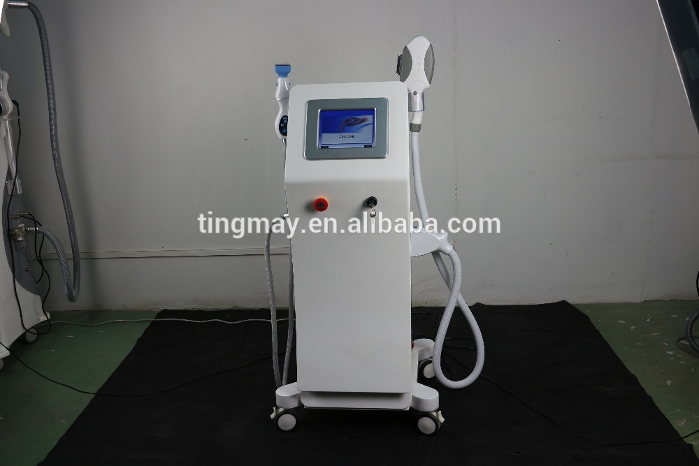 Effective And PainLess SHR IPL Fractional RF Hair Acne Removal Salon Machine