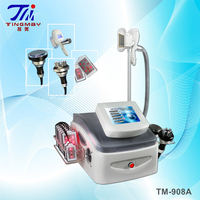 4 IN 1 Cavitation RF Cryolipolysis Lipo Laser/ Body Slimming Cryolipolysis Lipo Laser Machine