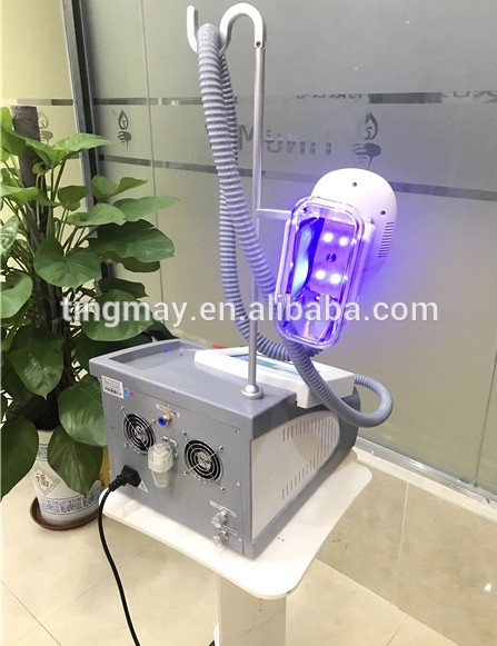 Portable one handle cryolipolysis machine can add double chin cryo handle