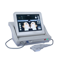 Professional Smas hifu machine korea for face care or body slimming/hifu with 3 or 5 cartridges 10000 shot