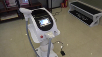 China manufacturer q switch nd yag laser tattoo removal machine