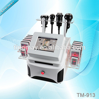 Portable tm-913 lipo laser cavitation rf vacuum machine