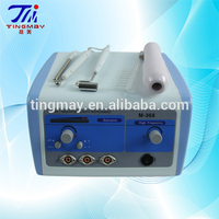 2015 M366 high frequency ultrasonic galvanic facial machine remove dead skin