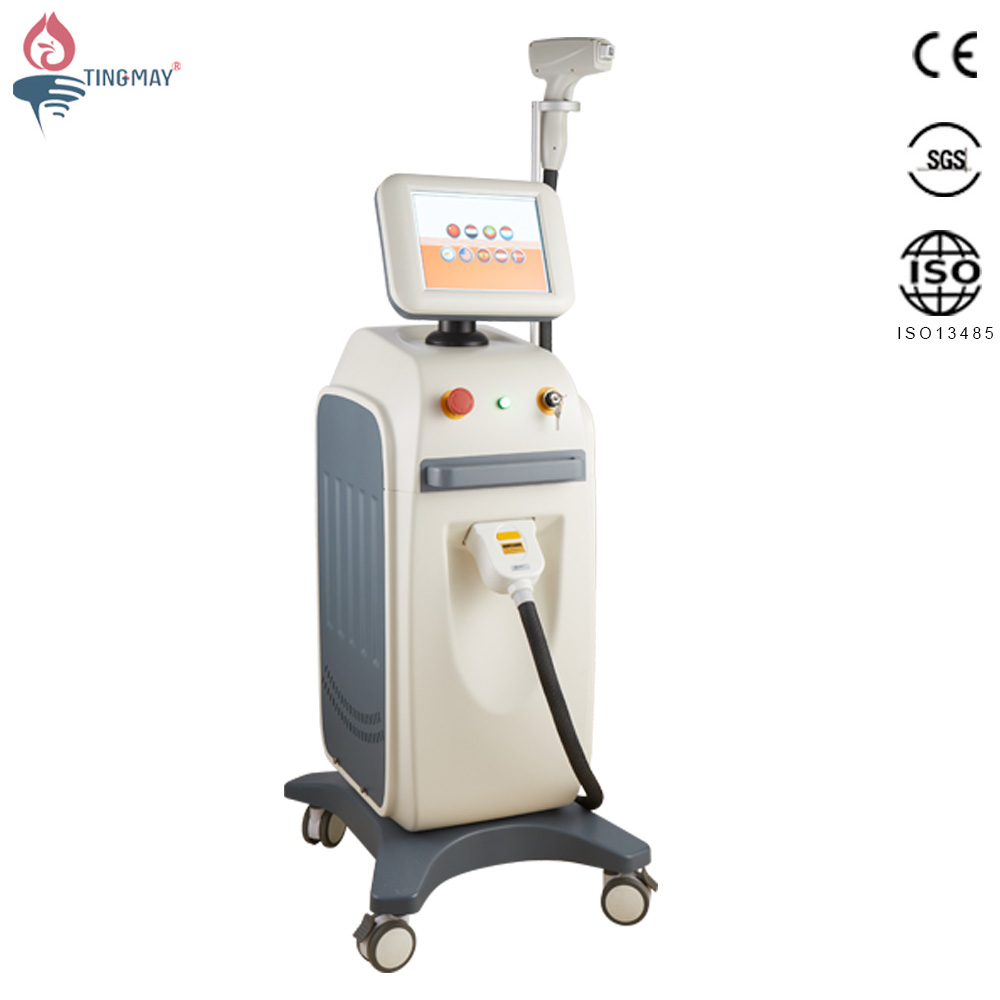No pain hair removal 808nm diode laser permanent hair removal equipment 808nm diode laser machine