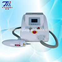 Nd yag laser tattoo removal/laser hair removal machine price