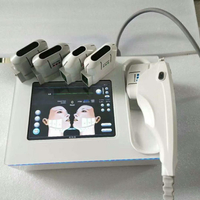Portable HIFU Lifting System 1.5mm/3.0mm/4.5mm / hifu face lift wrinkle removal machine with amazing result