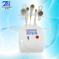 multipolar vacuum cavitation rf / ultrasonic slimming machine / 5MHz RF Fat removal beauty machine