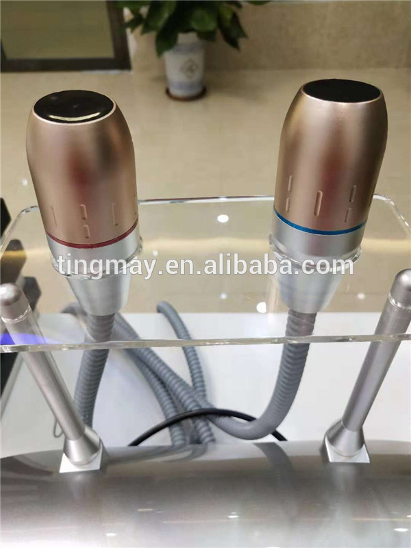 Hot selling vmax hifu two cartridges 3.0mm 4.5mm ultrasound hifu beauty machine with factory price