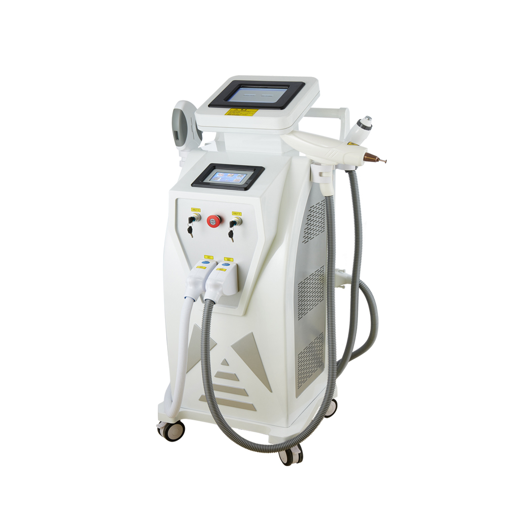 2019 China manufacturer OPT IPL Q switched nd yag laser RF machine price