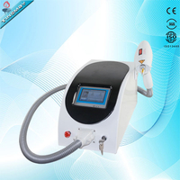 2018 New Yag Laser Portable Tattoo Removal 1064nm/532nm High Quality Q Switched Nd: Yag Laser Machine for sale