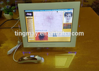 Digital boxy skin and hair analyzer facial skin analyzer with manual