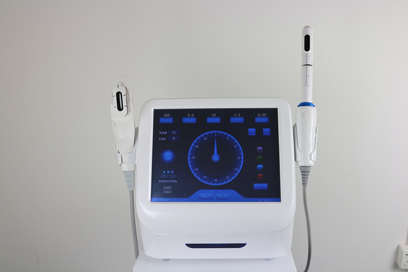 Hifu vaginal tightening machine for face and 3.0mm&4.5mm for vagina