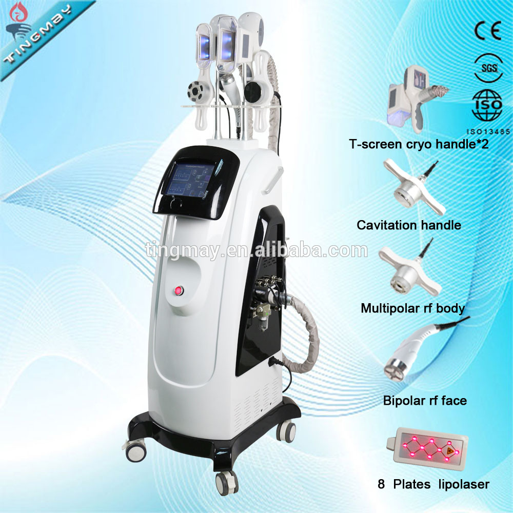 Newest cool tech kryolipolyse cryolipolysis body contouring machine