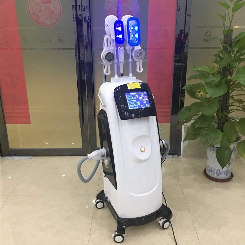 6 in 1 multifunction cryolipolisis cavitation rf lipo laser fat freezing machine factory price
